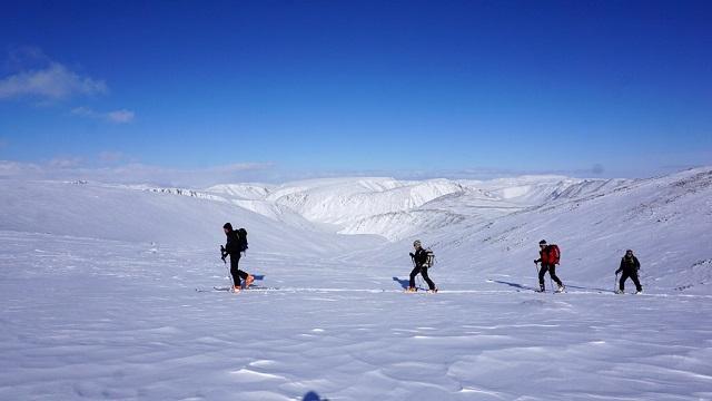 Французы на лыжах покоряли Урал