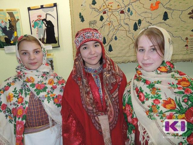 Коми национальная игра объединила русских, коми и киргизских студенток