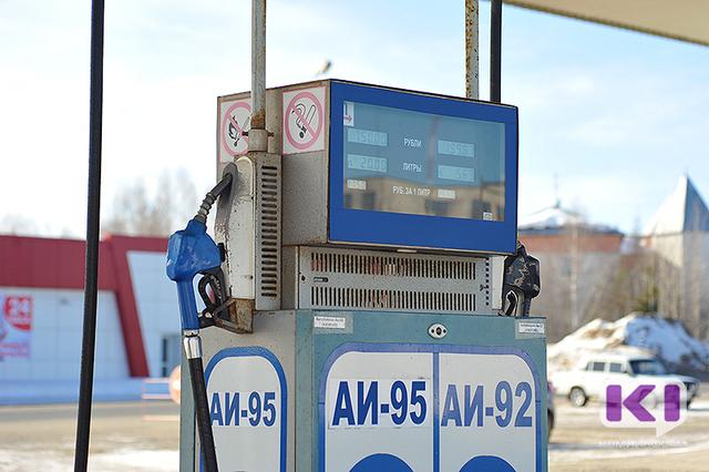 Сегодня ночью в Сыктывкаре повысилась стоимость бензина