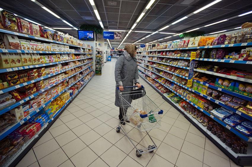 Доля продовольствия превысила 50% втратах граждан России — Исследование
