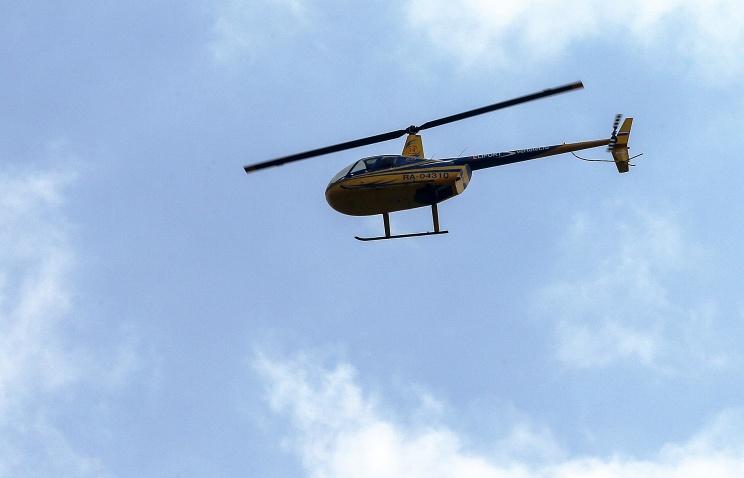 Потерпел крушение летевший из Коми в Арктику вертолет, три человека погибли