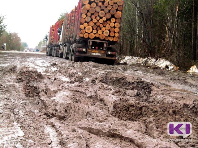 Госавтоинспекторы задержали еще пять лесовозов под Сыктывкаром