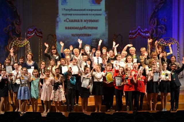 Пятиклассники Коми выясняли, кто самый прилежный на уроках музыки