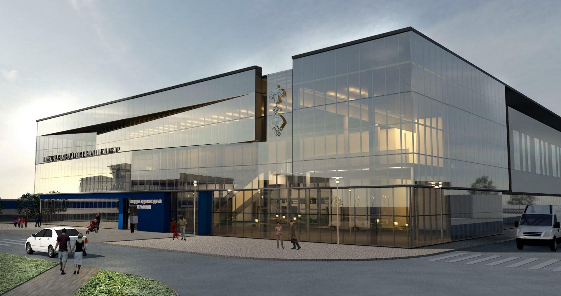 При строительстве здания нового международного терминала в Сыктывкаре старое сноситься не будет