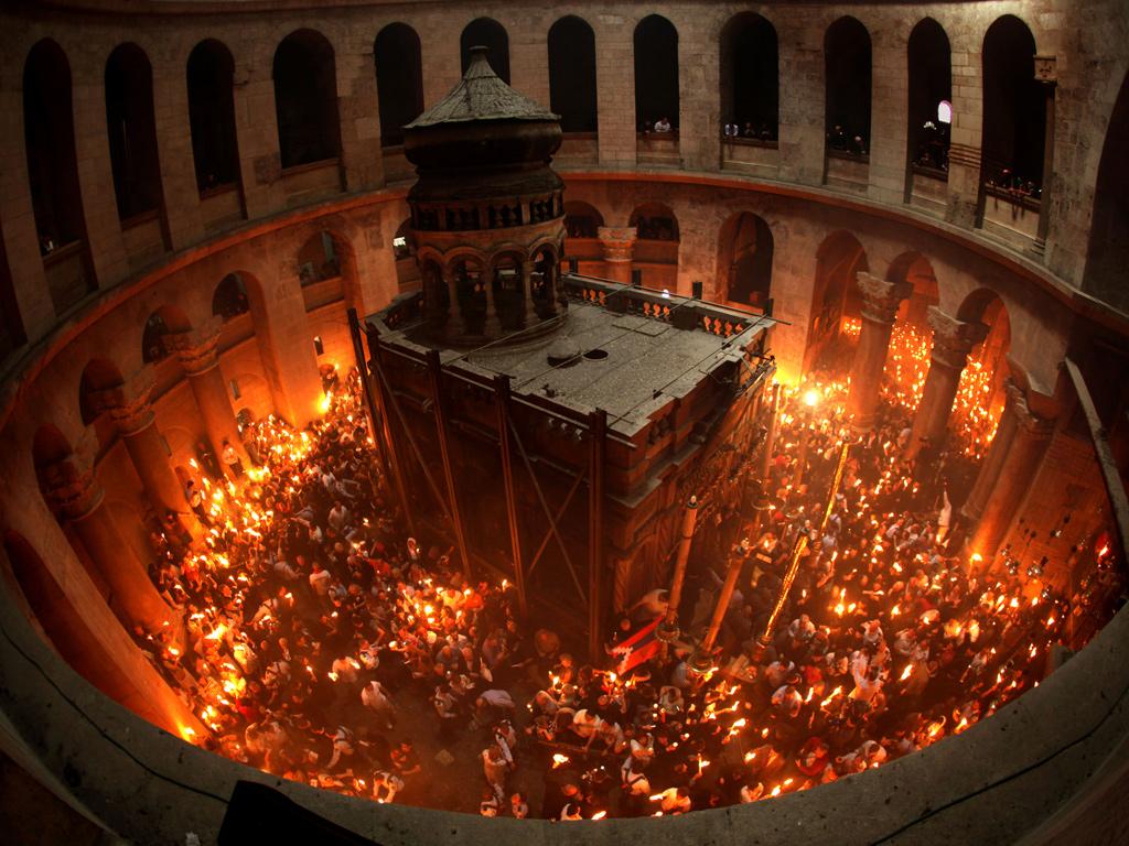 В столицу Коми из Иерусалима прибудет Благодатный огонь