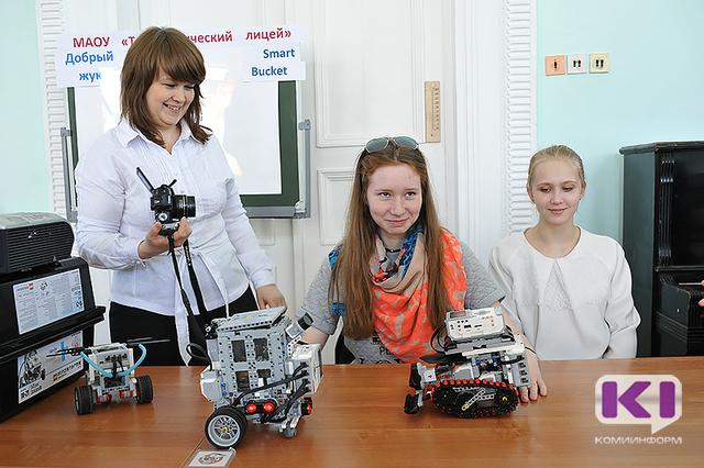 Школьники Коми продемонстрировали свою интеллектуальную собственность