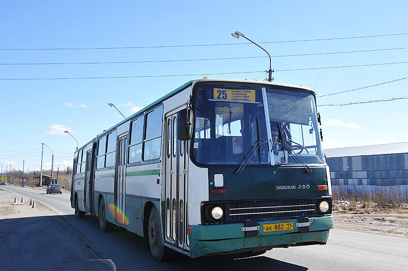 10 мая будут внесены временные изменения в маршруты движения автобусов в Сыктывкаре