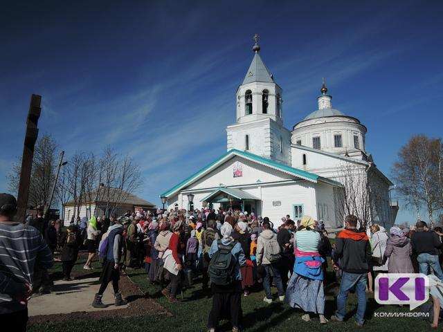 Крестоходцы завершили двухдневный переход из Сыктывкара в Ыб