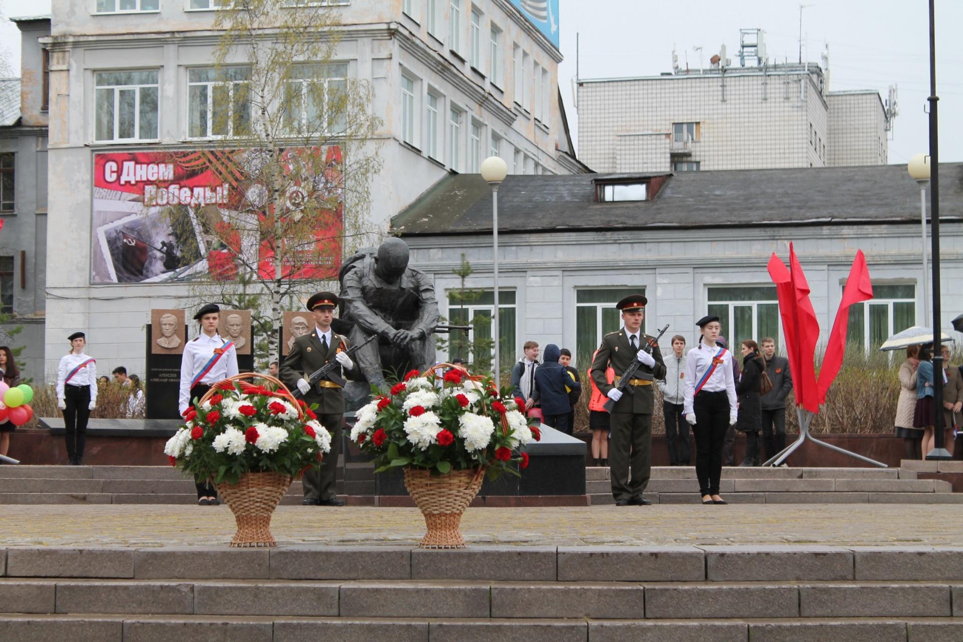 В Коми начались торжества в честь Дня Победы