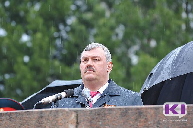 Сергей Гапликов поблагодарил всех организаторов и участников мероприятий, посвященных Дню Победы