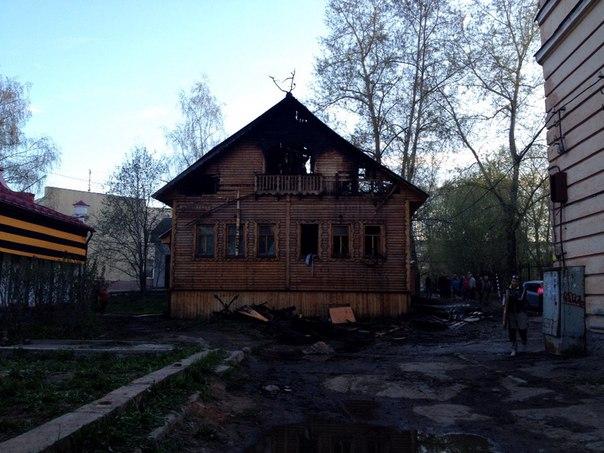 Ущерб от пожара в Центре народной культуры коми-ижемцев составил более двух миллионов рублей