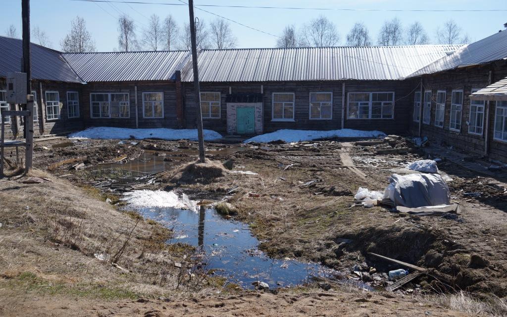 Заложники аукционов: ремонт в Красноборской школе затягивают