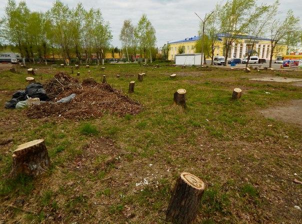 Сквер у вокзала в Сыктывкаре: ни деревьев, ни строительства