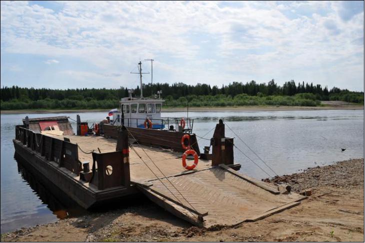 По маршруту Подтыбок-Аныб будет курсировать грузопассажирский теплоход