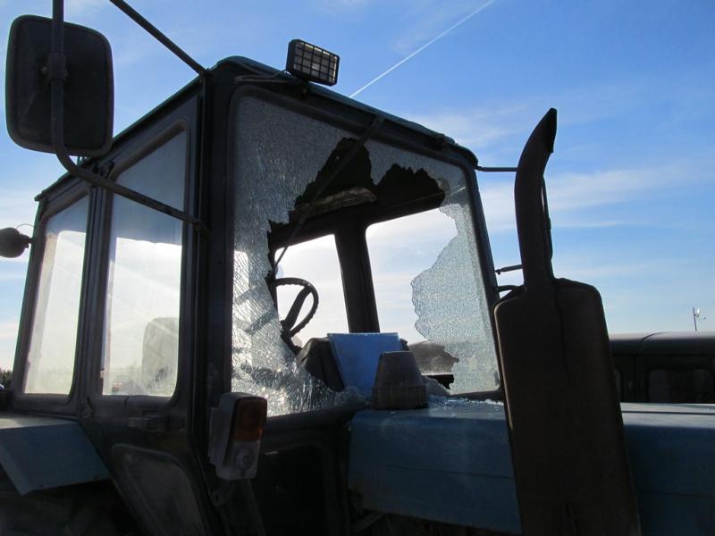 В Ухте подвыпившие рабочие расстреляли восемь машин