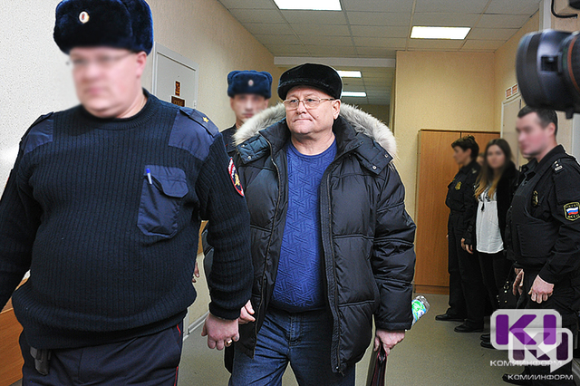 Следствие ходатайствовало о продлении ареста бывшему главе УФСИН России по Коми