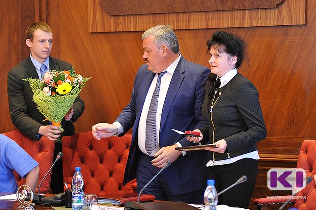Лариса Максимова стала заслуженным работником Республики Коми
