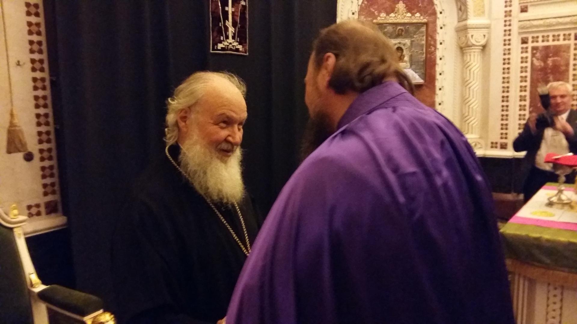 Визит патриарха Московского и Всея Руси в Коми переносится на день