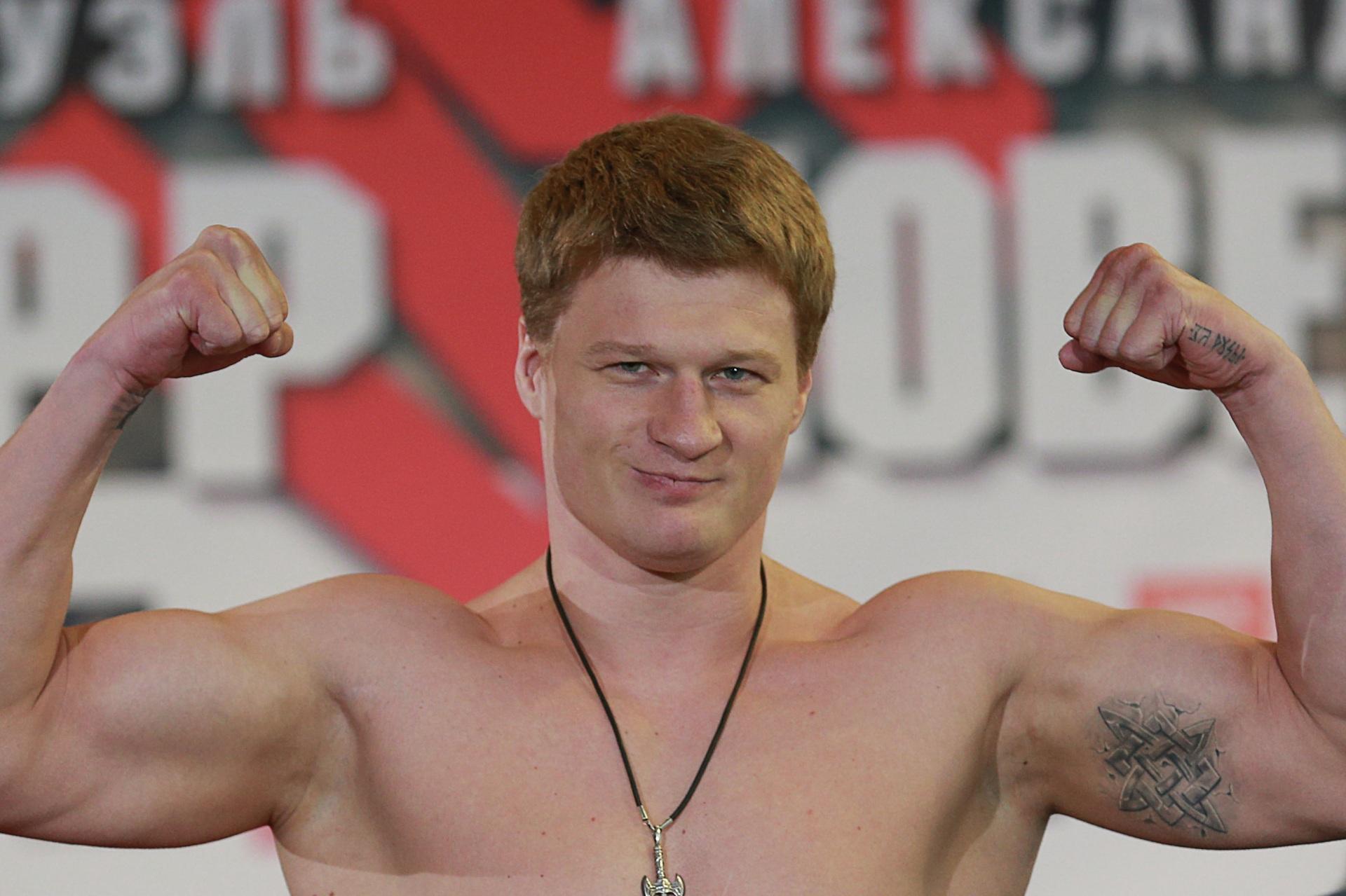 Сыктывкар посетит экс-чемпион мира по боксу Александр Поветкин