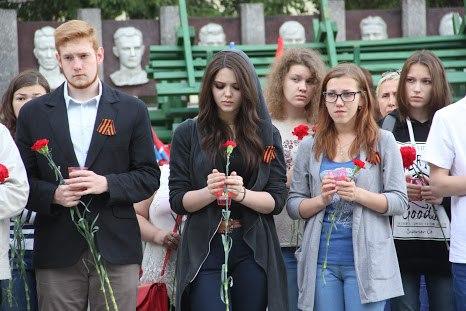 Сыктывкар почтил память героев войны акцией