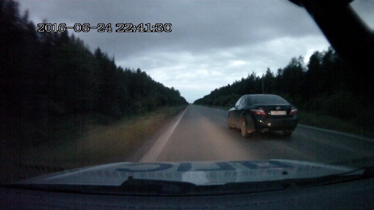 Очередная погоня за нетрезвым водителем: теперь в Ухте