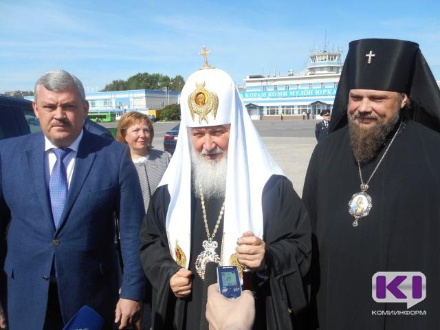 Патриарх Московский и всея Руси Кирилл благословил Коми край и его жителей