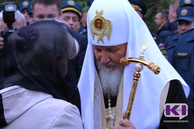 Патриарх Кирилл отслужил молебен по погибшим горнякам на шахте
