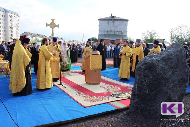 В Воркуте заложили камень в основание нового собора