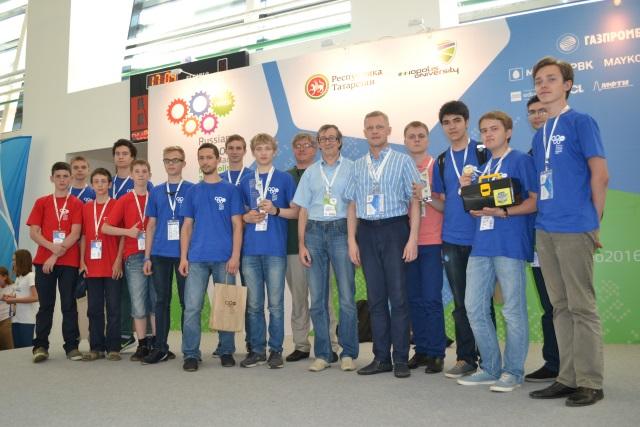 Ухтинские школьники победили на Всероссийской робототехнической олимпиаде в состязании