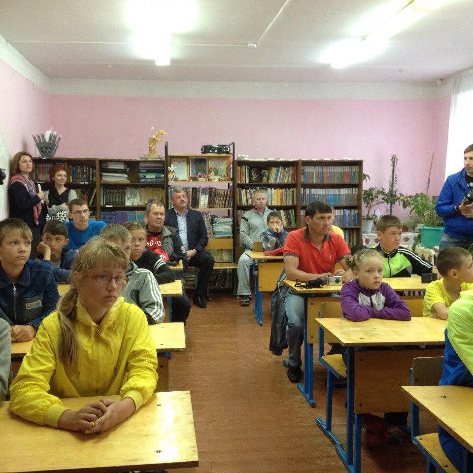 Сергей Гапликов встретился с койгородскими школьниками