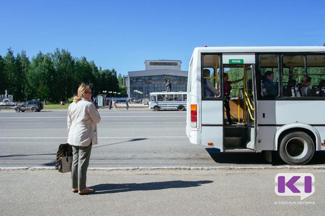 В Сыктывкаре вносятся временные коррективы в маршруты курсирования ряда автобусов