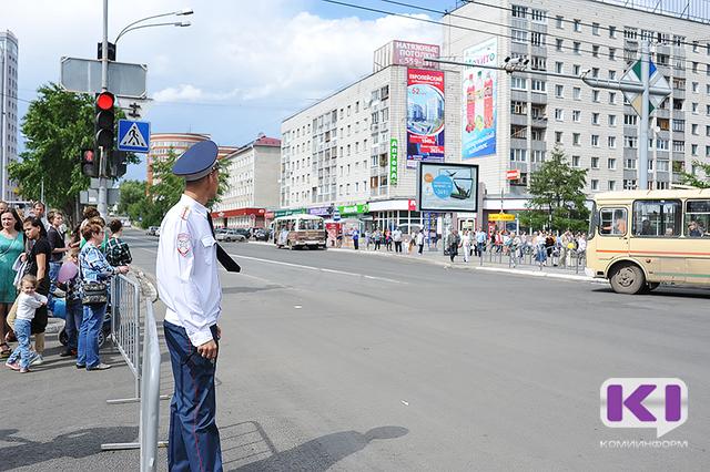 В дни празднования юбилея Коми сыктывкарские автобусы изменят схему движения