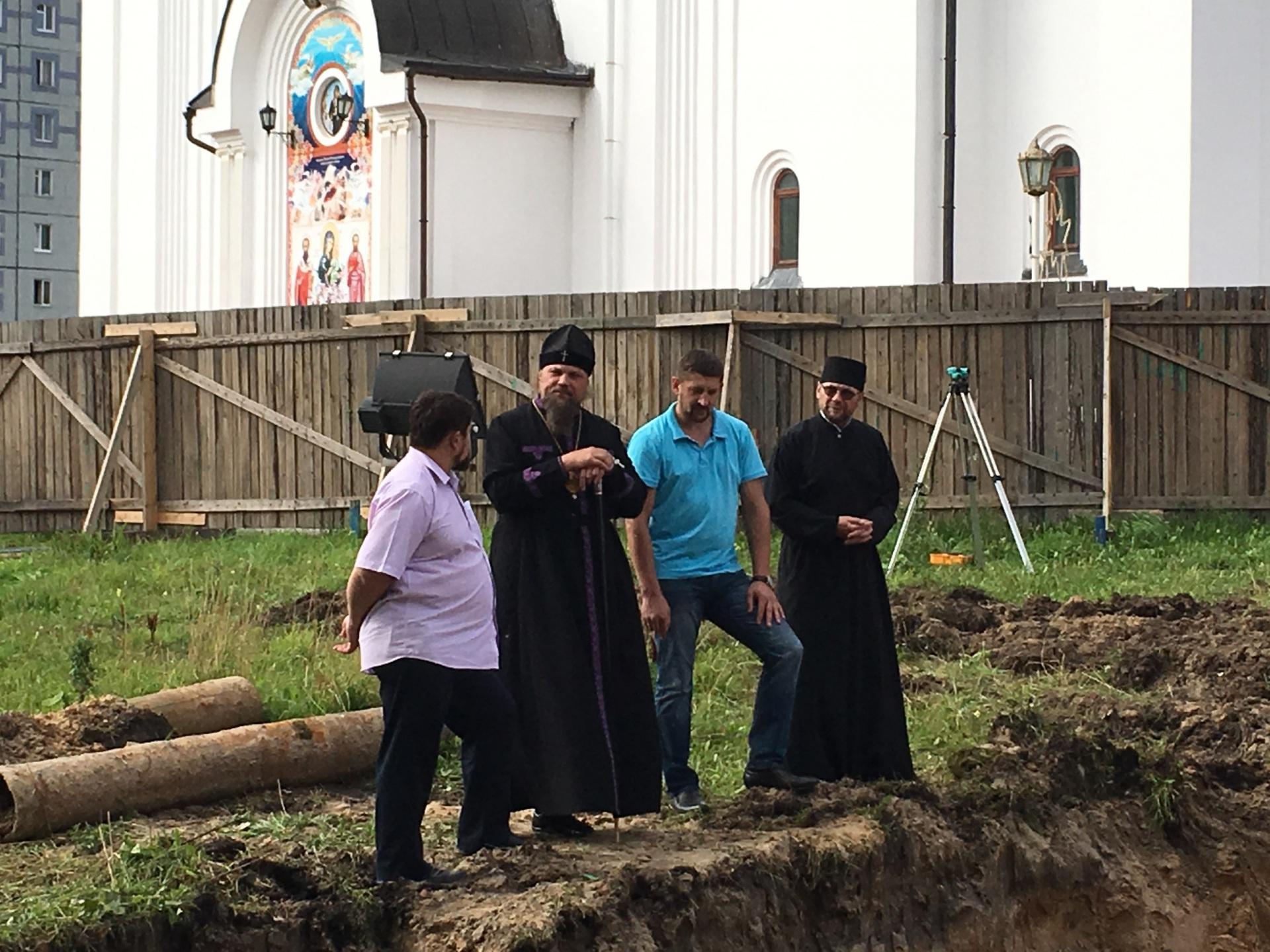 В Сыктывкаре у Свято-Стефановского кафедрального собора построят звонницу