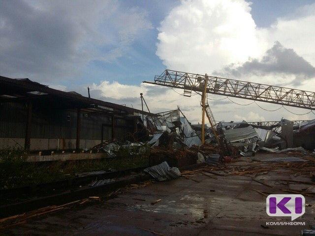 Что наделал вгороде непродолжительный шторм— Сыктывкарский смерч
