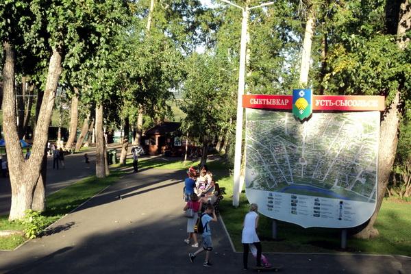 Туристские карты весом в 200 кг не дадут гостям заблудиться в Сыктывкаре