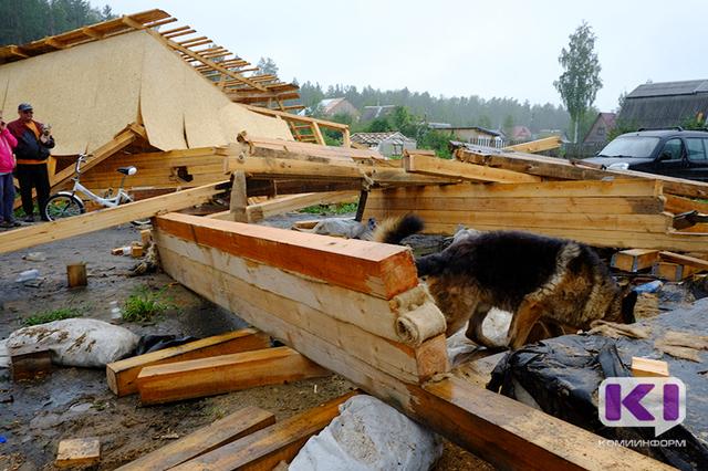 Очевидцы урагана в Дырносе: