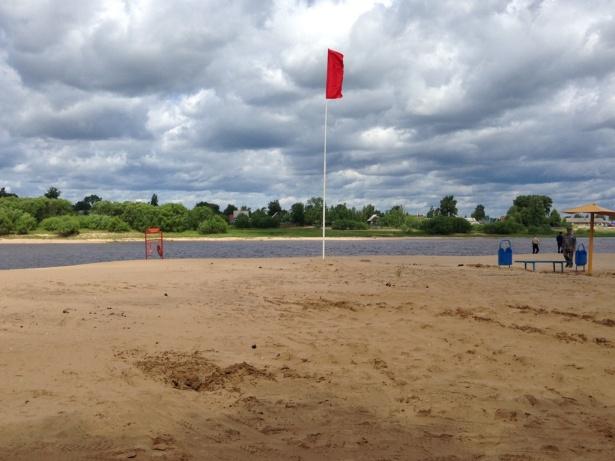 В Сыктывкаре закрыт городской пляж в местечке Кируль