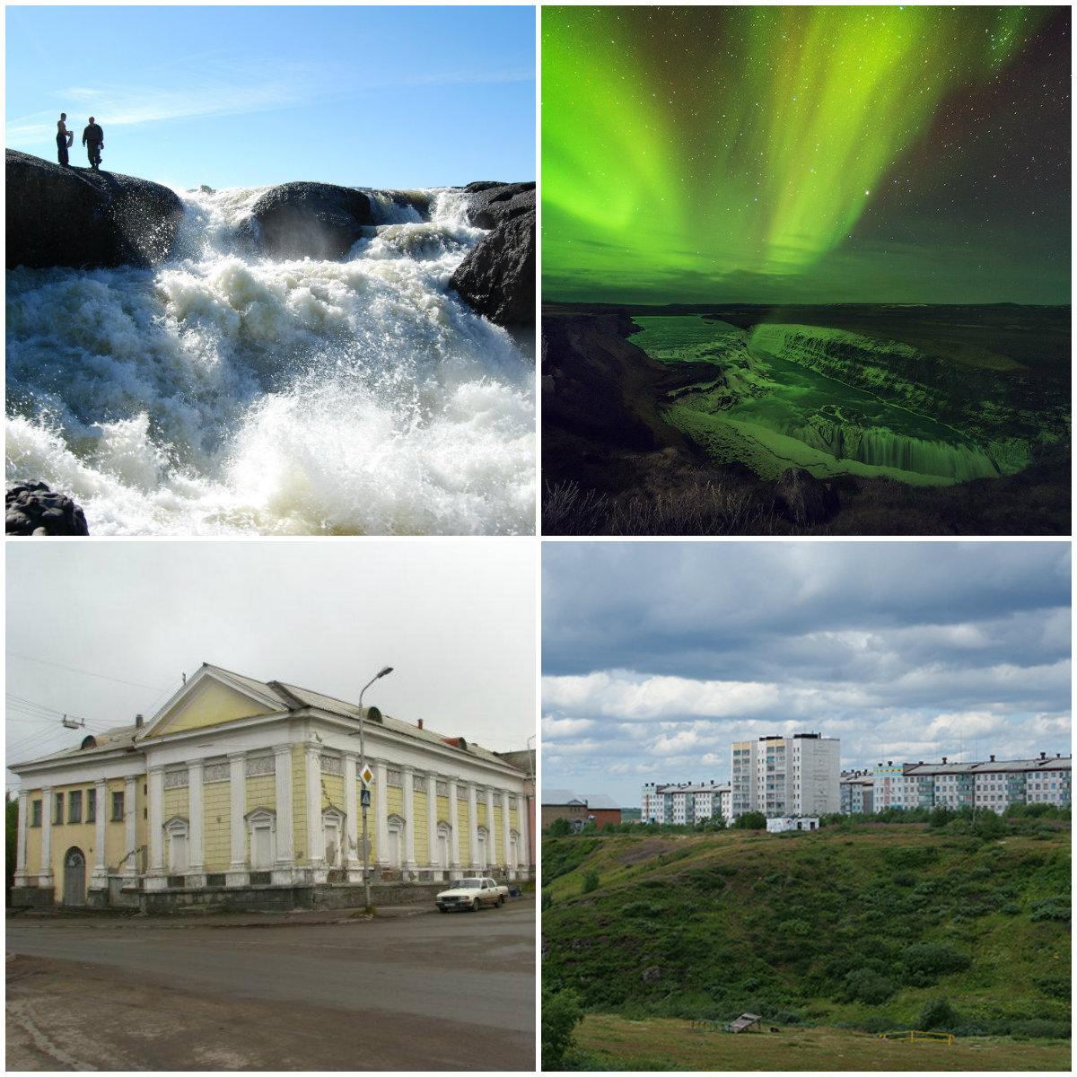 Воркута: геологический памятник, заполярные водопады и необычный кукольный театр в краю северного сияния