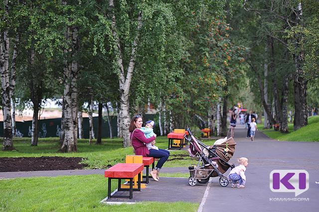 В Сыктывкаре запустили опрос: какие объекты построить в Кировском парке