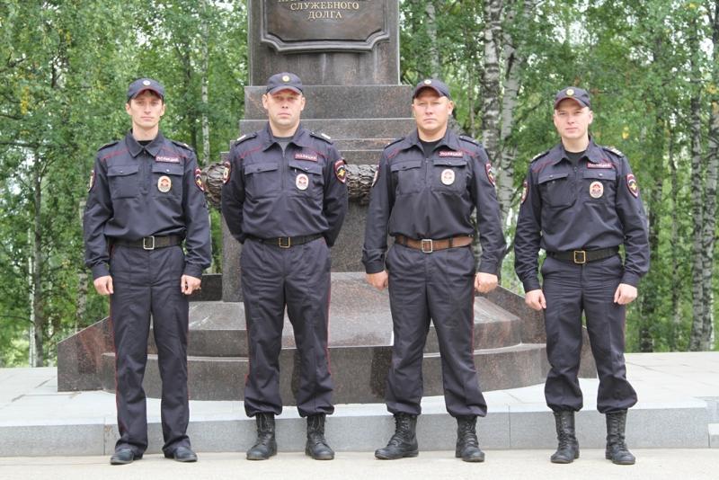 Четверо сотрудников патрульно-постовой службы из Сыктывкара представлены к наградам