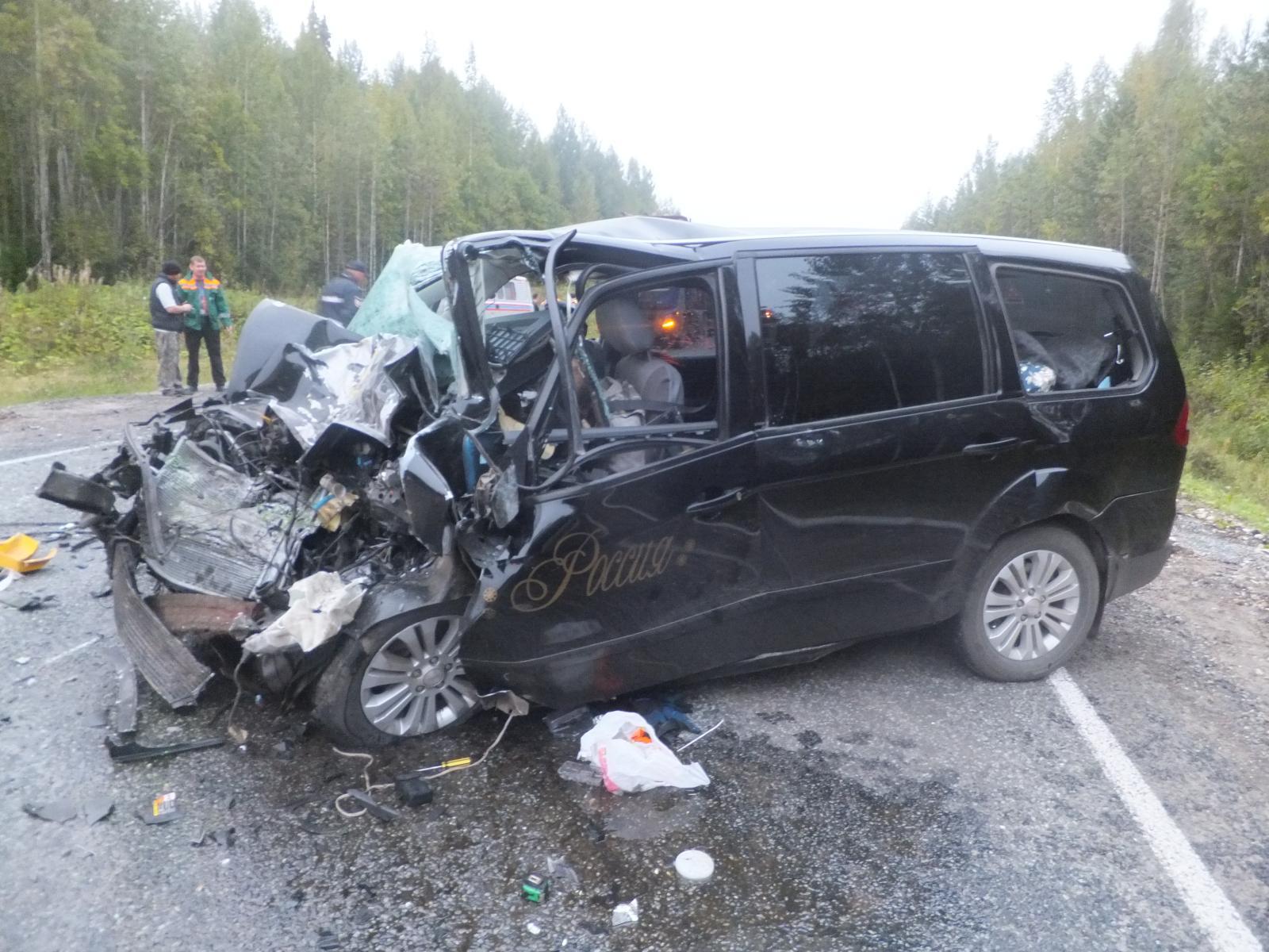 В трагедии вСысольском районе Коми умер человек