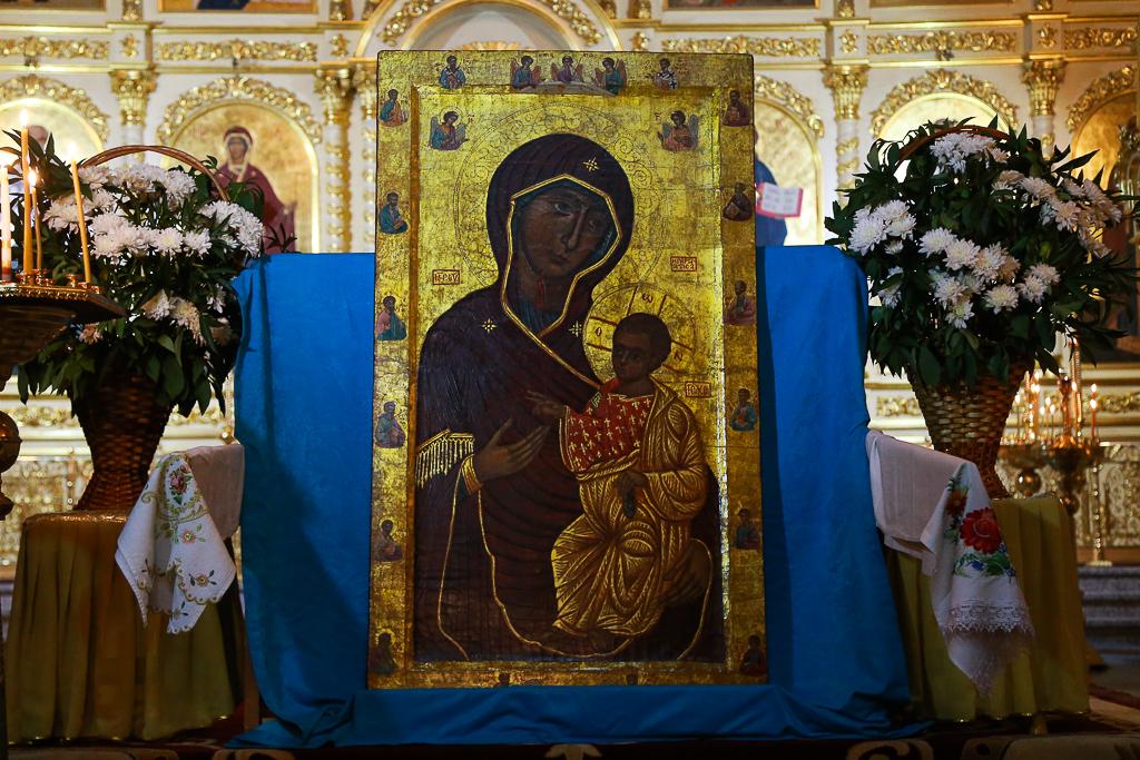 Дар афонских монахов прибыл в Сыктывкар навечно