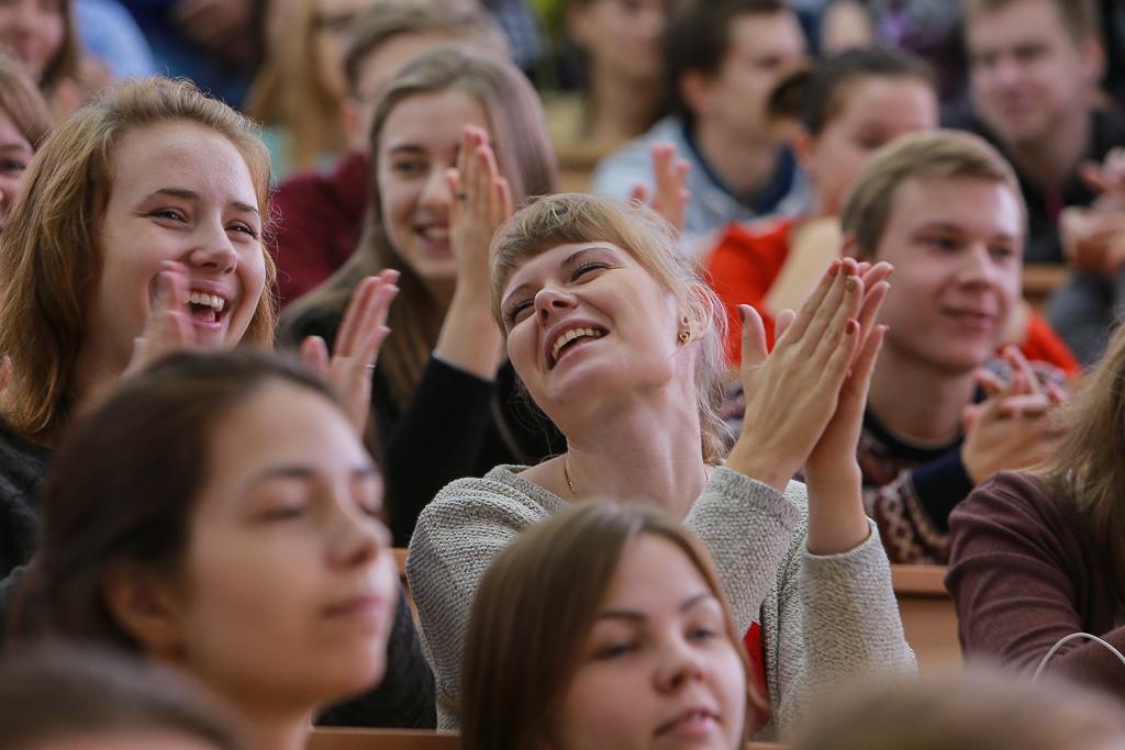 Сергей Гапликов поделился со студентами СГУ курьезами из своего студенческого прошлого