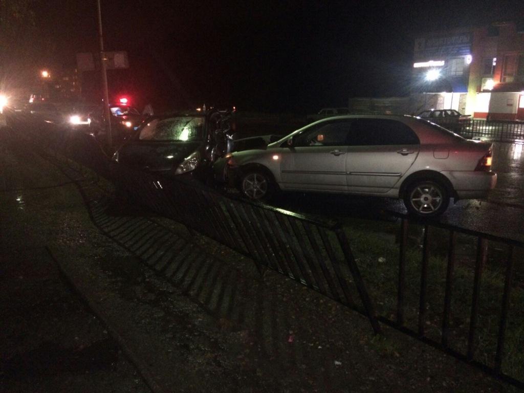 ВУхте автоледи спровоцировала трагедию
