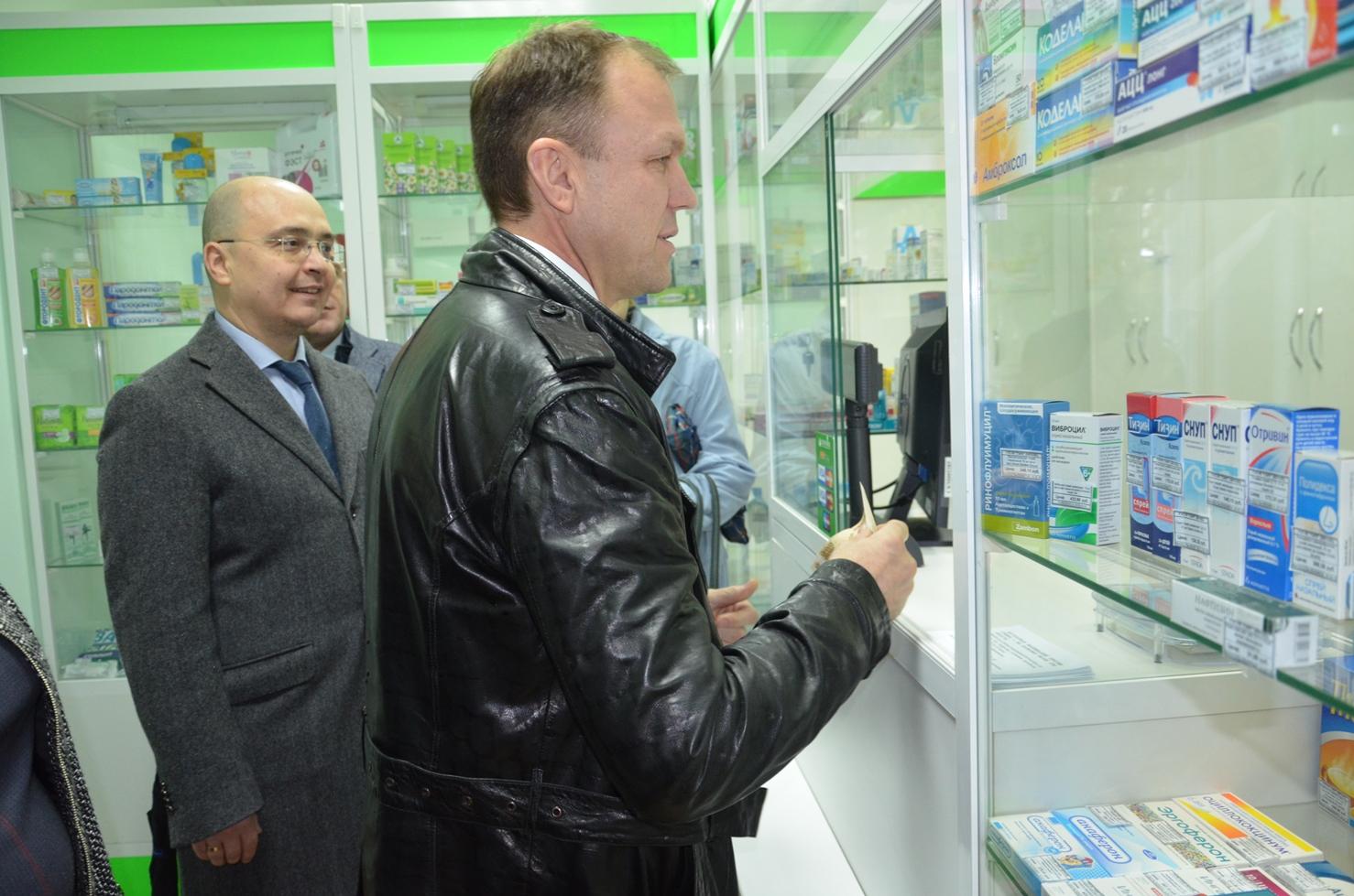 Для жителей сыктывкарского Лесозавода открылась новая аптека