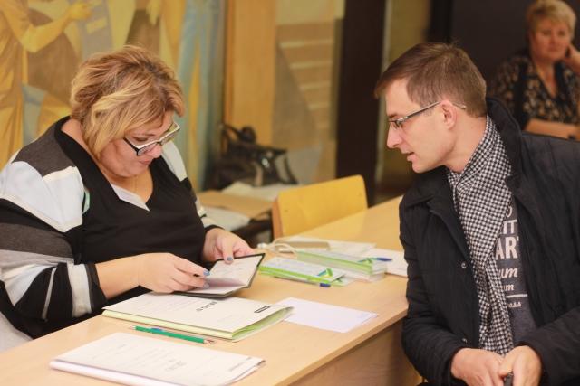 Дмитрий Шатохин впервые за пять лет голосовал в Сыктывкаре