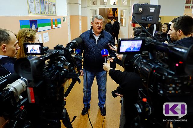 Сергей Гапликов одержал победу на выборах главы Коми
