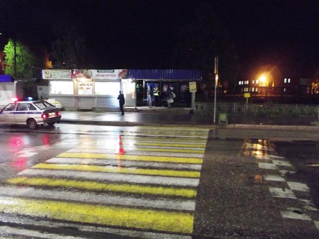 ВСерпухове напешеходном переходе сбили 10-летнюю девочку