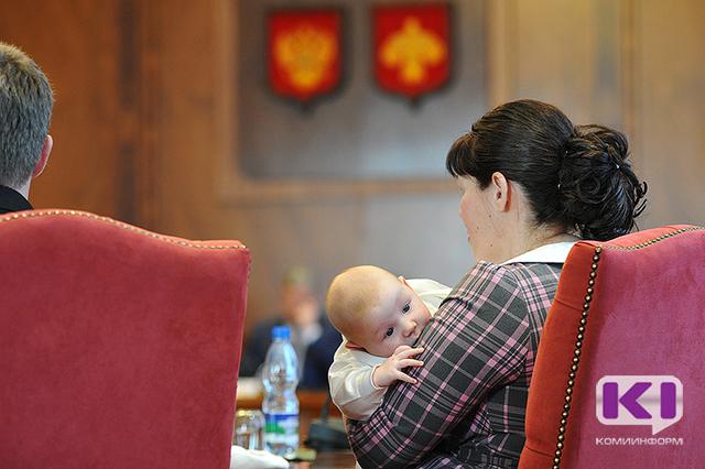 Коми получит дополнительные средства из федерального бюджета на ежемесячные денежные выплаты многодетным семьям