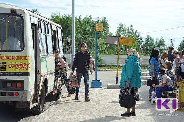 В Сыктывкаре заканчивают свою работу дачные автобусные маршруты